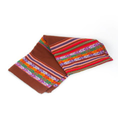 Decke aus Peru, Aguayo-Stoff