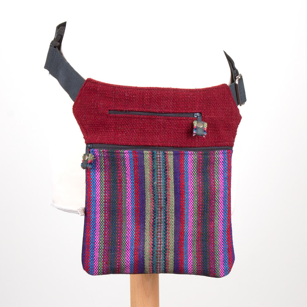 Gürteltasche aus Peru - bunt gewebt