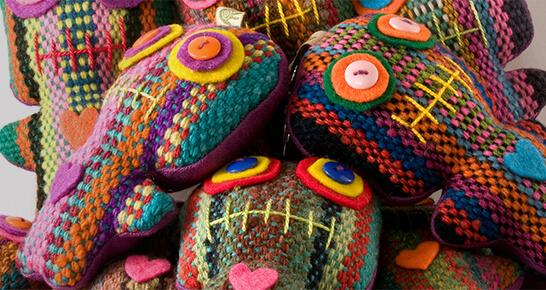Glücksbringer Puppen aus Peru