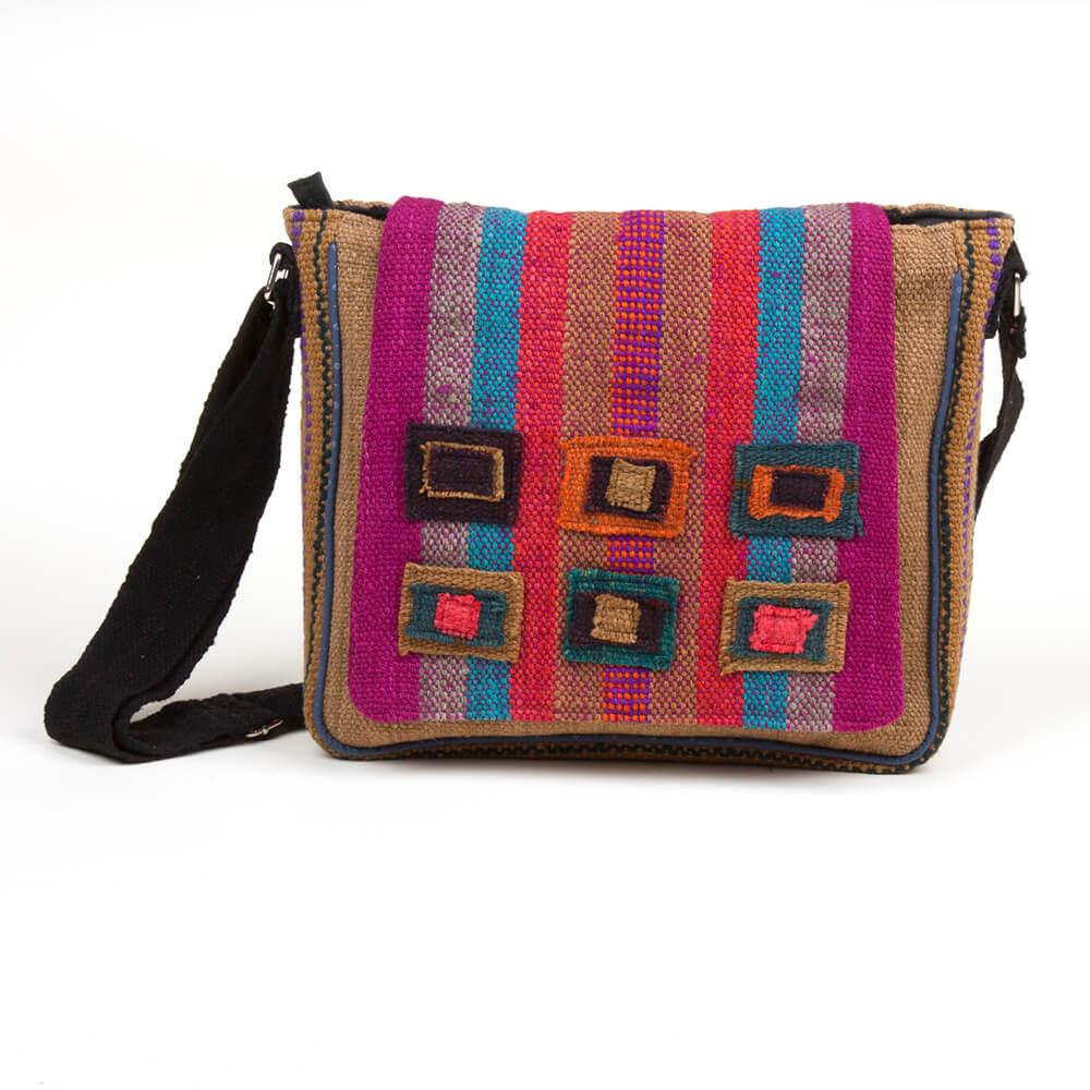 Umhängetasche aus Peru