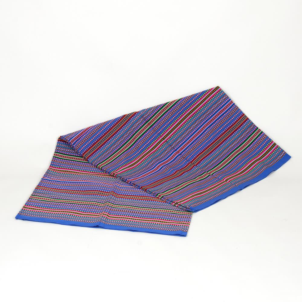 Decke aus Peru, himmelblau