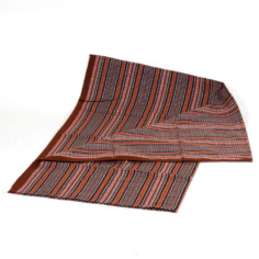 Aguayo Decke aus Peru - braun