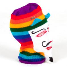 Maske Ukuko Peru weiss