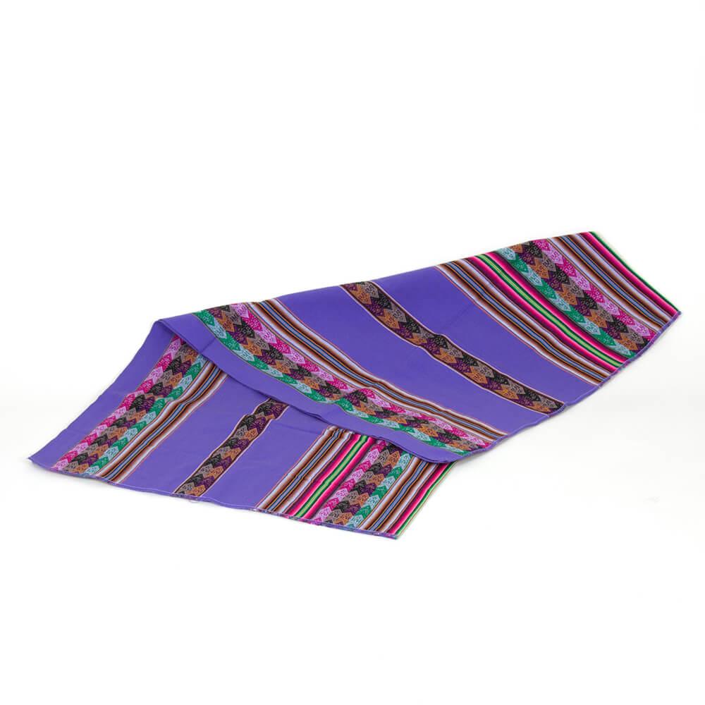 Decke Manta Peruana aus Peru, lila