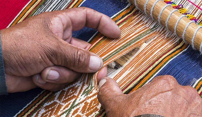 Webende Hände, Peru