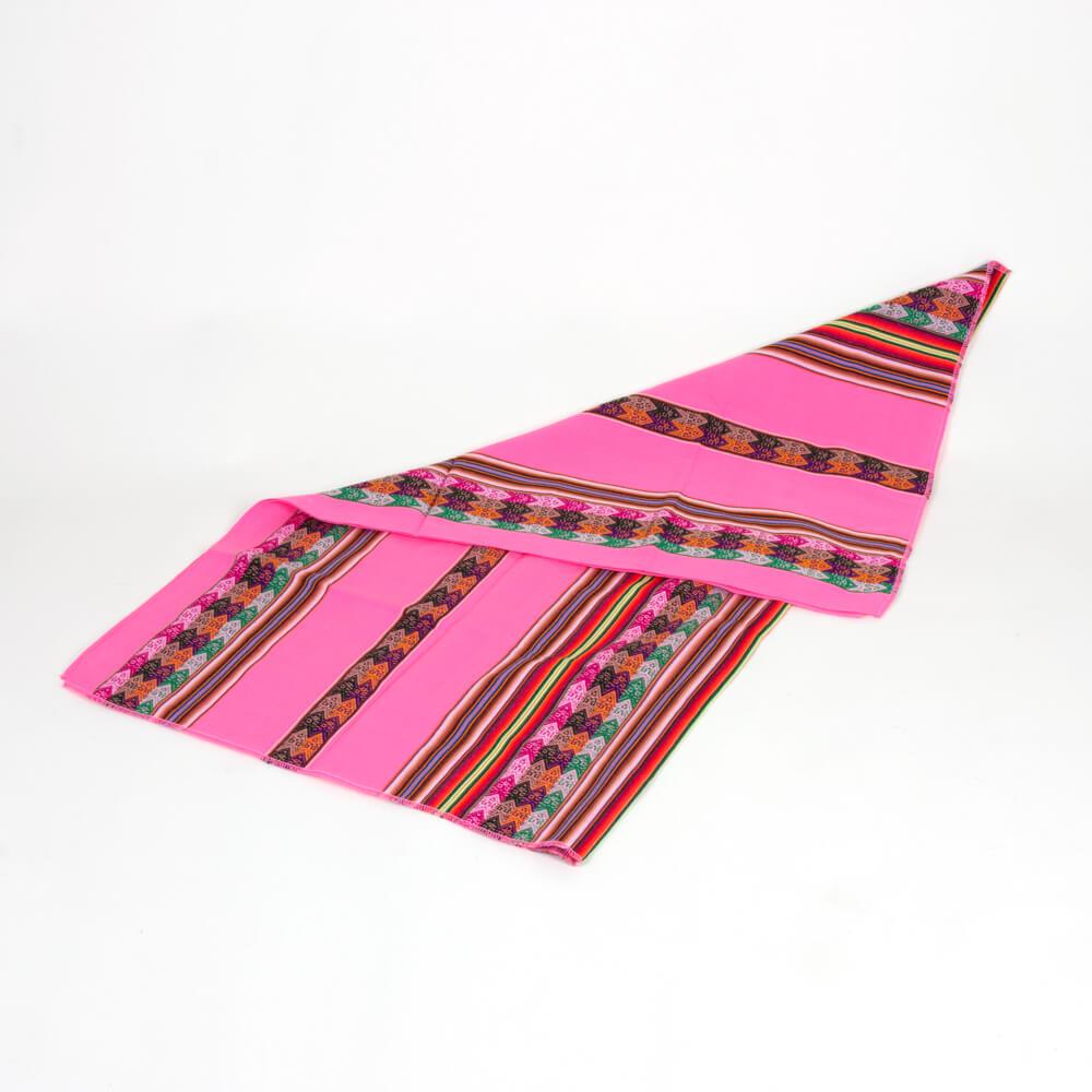 Decke aus Peru, pink
