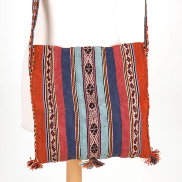Umhängetasche Chuspa aus Alpakawolle - Peru