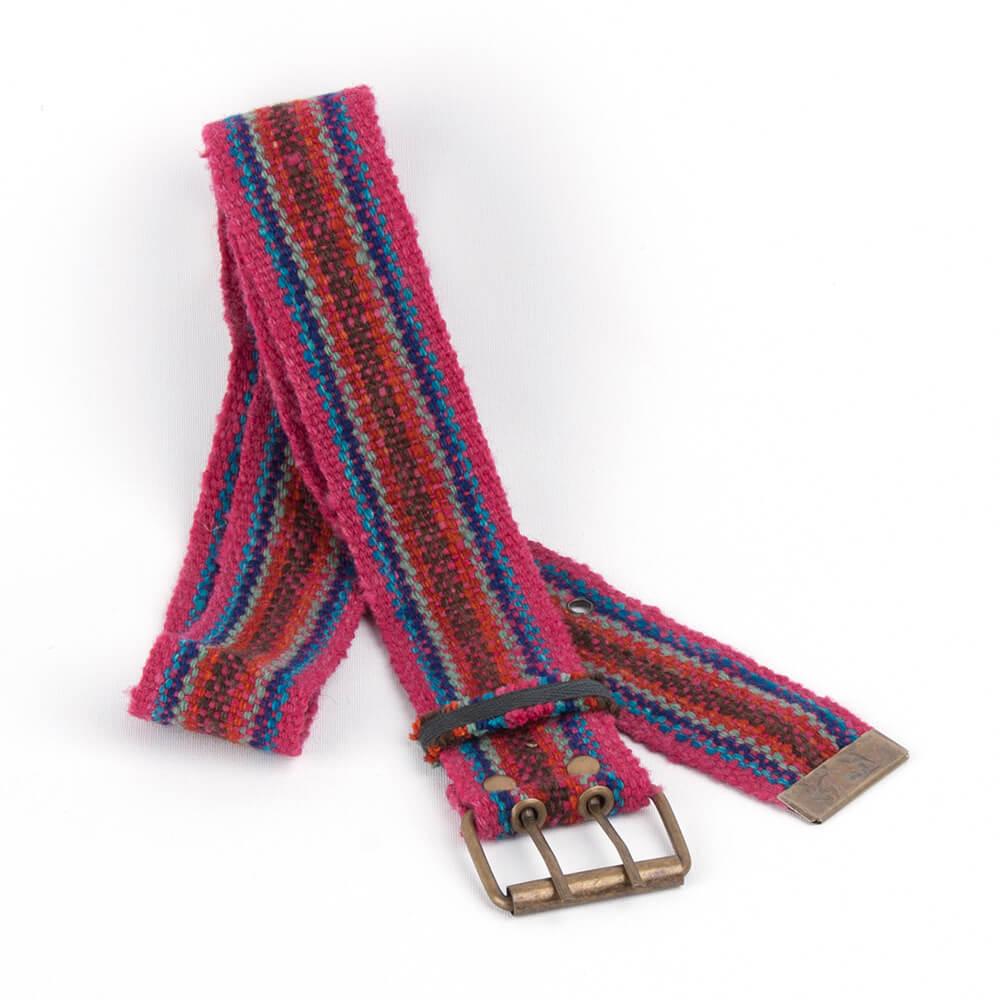 Gürtel aus Peru, rot