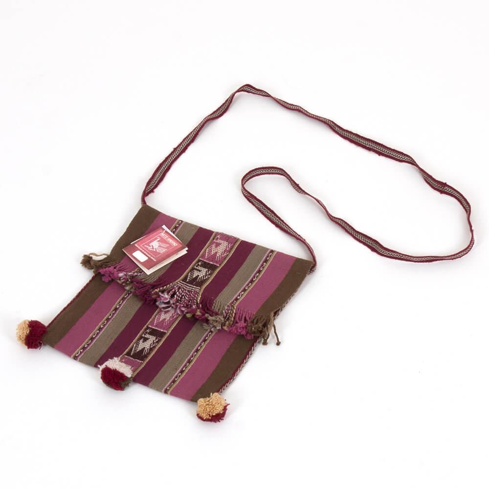 Leichte Tasche mit Muster, Herkunft Bolivien - Chuspa Mediana