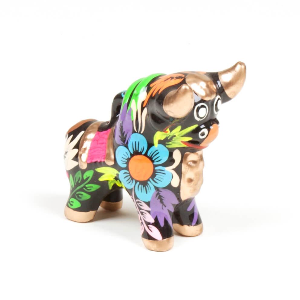 Glücksbringer Stier aus Peru - Torito de Pucará