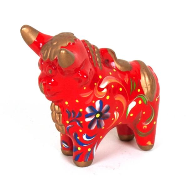 Stier aus Keramik - Peru