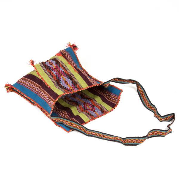 Umhängetasche Chuspa aus Alpakawolle