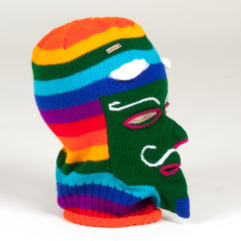 Traditionelle Maske aus Peru