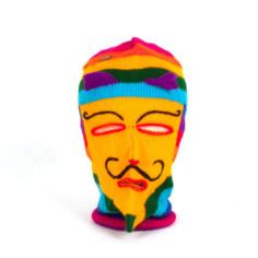 Maske Ukuko Peru gelb