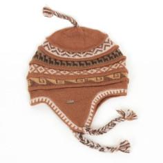 Ohrenklappenmütze aus Peru