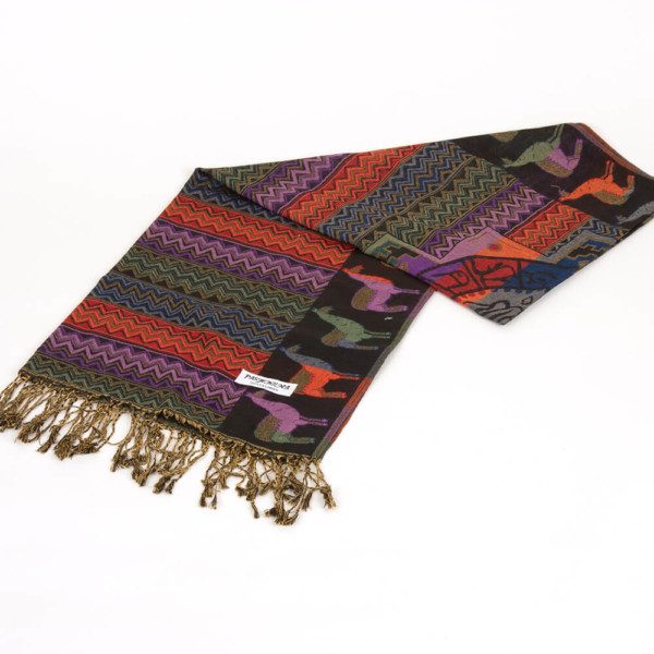 Pashimna - Seidenschal aus Peru