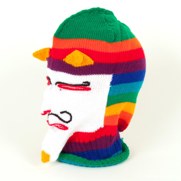 Maske aus Baumwolle - Peru