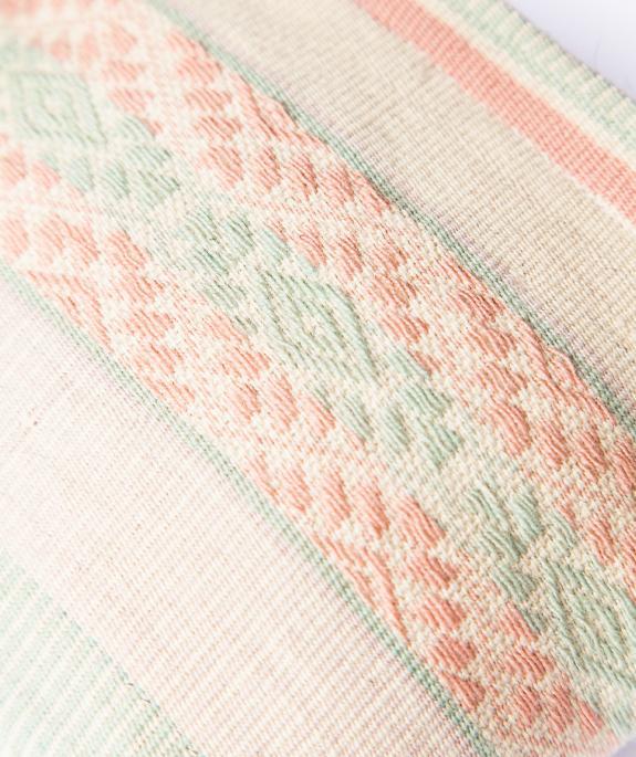 Wayra Cosmetic Pouch aus Peru - sandfarben