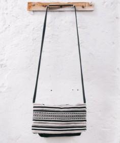Crossbody Tasche Qhapaq Slate aus Peru