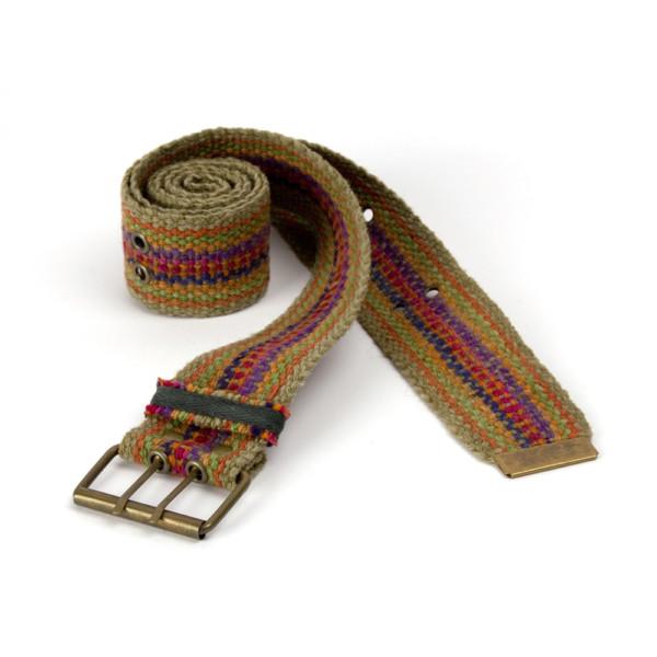 Bunter Gürtel aus Peru