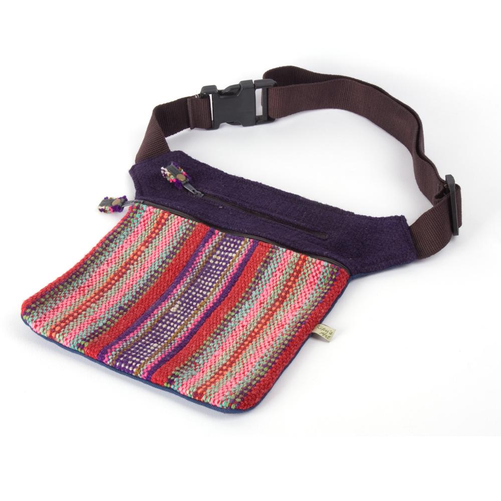 Gürteltasche aus Peru