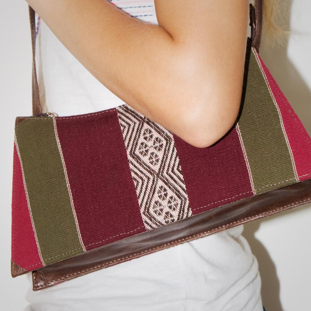 Handtasche Clutch aus Bolivien