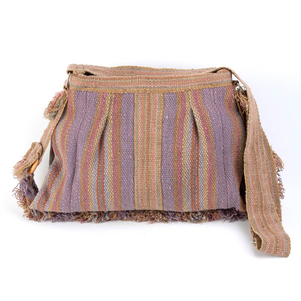 Umhägentasche Peluche aus Peru, beige